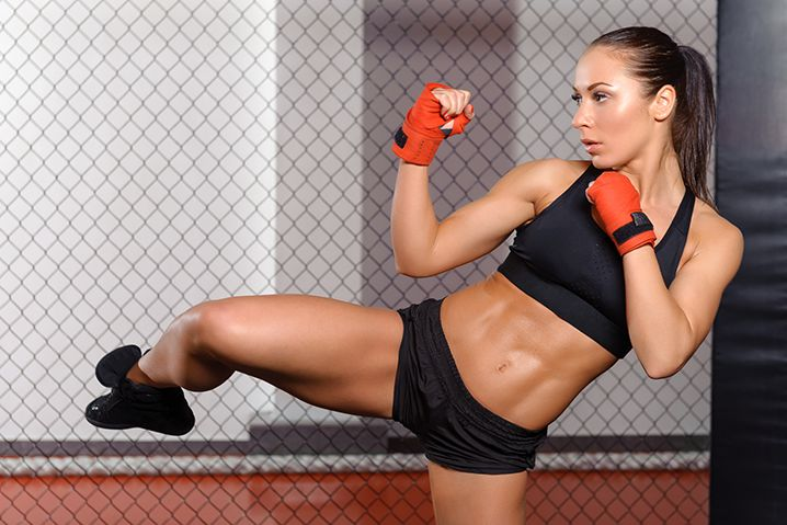 Kickbox Step Aerobic Certification